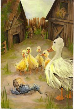 Hans Christian Anderson's The Ugly Duckling, illustrated by Chelsea Soisson