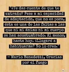 Mario Benedetti. Amazing writer!