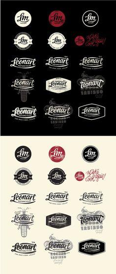 logo / badge / Leonart Motorcycles
