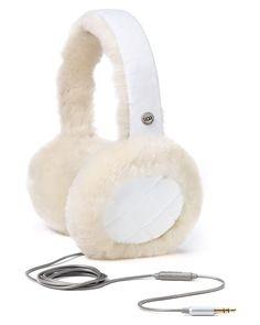Ugg winter earmuffs with headphones