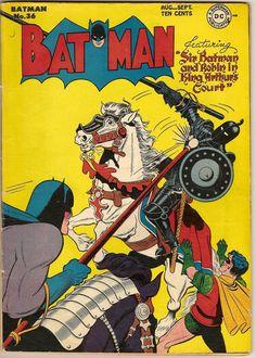 The Arthur of the Comics Project: Batman in King Arthur's Court