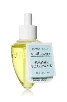 Summer Boardwalk Wallflower. Great for small spaces, like washrooms. It smells creamy and delicious