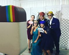 The Instabooth at a Wedding