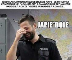 Polish Memes, Funny Mems, Fnaf, Funny Images, Haha, Love You, Mood, Humor, Ideas