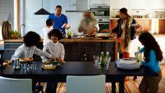 Idéal pour les repas en famille