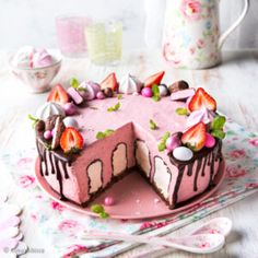 Cute Cakes, Yummy Cakes, Bread Cake, Dessert Recipes, Desserts, Let Them Eat Cake, Baked Goods, Cake Decorating, Decorating Ideas
