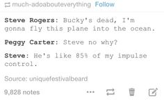 Steve Rogers, Bucky Barnes, and Peggy Carter Marvel Funny, Marvel Memes, Marvel Dc Comics, Marvel Avengers, Geeks, I Understood That Reference, Hulk, Bucky And Steve, Dc Movies