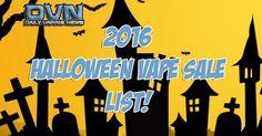 SALE LIST: 2016 Halloween Vape Sale List