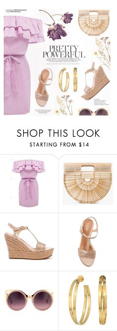 """""""Pretty"""" by sans-moderation ❤ liked on Polyvore featuring Cult Gaia, UGG, Erdem and Tory Burch"""