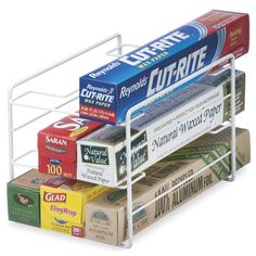 For the butler's pantry and the out door kitchen Kitchen Wrap Organizer