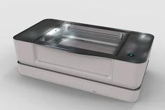 Impressora 3D chama atenção pela praticidade e versatilidade (Foto: Divulgação/Glowforge 3D)