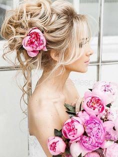 Elstile Long Wedding Hairstyle Ideas 12