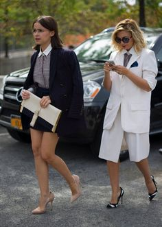 Best Dressed, Fashion Friends: Miroslava Duma and Nasiba Adilova