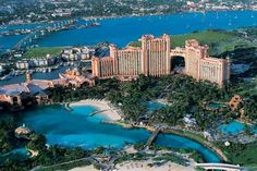 Atlantis resort. Walked through this place on one of our cruise stops... AMAZING!!! I would love to stay here one day!
