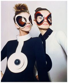 Archives Pierre Cardin- Italian-born French fashion designer who was known for his avant garde style and ignoring the female form.