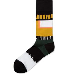 Black/Yellow Cayenne Socks