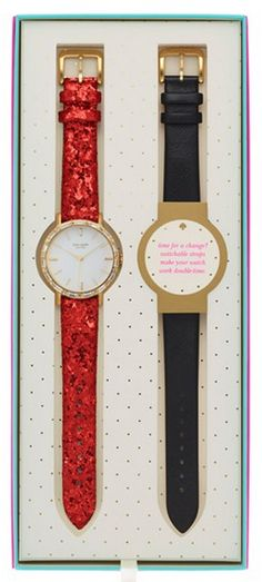 Pretty and sparkly kate spade glitter watch - last one in stock!