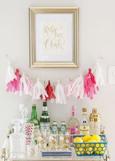 Bar carts don't always live up to their potential. Not only can they keep your home looking organized and ready for any impromptu party, but they can also give your home some serious style points! They're the perfect mix of booze and beauty – what's not to love? Honestly, every good host should have