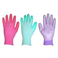 Women's 3-Pack PU (Polyurethane Dip) Gloves