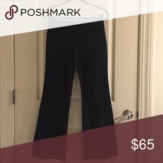 V.S. Kate fit dress pants Kate fit, low rise, and boot cut, Black dress pants. Super soft stretch, tight through hips and thigh, then boot cut from knee down. Size is 2, long length. Cotton and spandex Victoria's Secret Pants Boot Cut & Flare