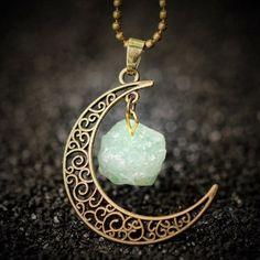 Moon Gem Necklace