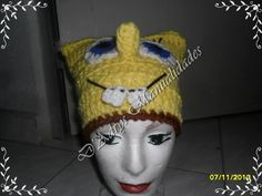 Sponge Bob hat......no link but easy enough to recreate I think.
