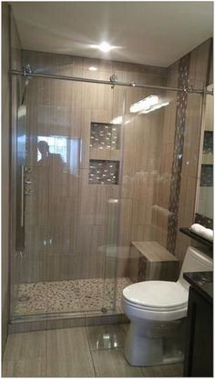 30+ Hottest Small Bathroom Remodel Ideas For Space Saving 20 - decorhomesideas #bathroom#smallbathroom#bathroomremodel