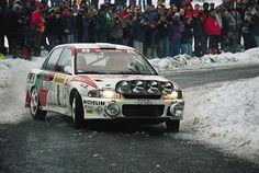 ra Kenneth Eriksson - Staffan Parmander-Mitsubishi Lancer Evo I Gr.A-Mitsubishi Ralliart Europe-Rally Monte Carlo 1994