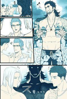 Final Fantasy XV Gladiolus nipples