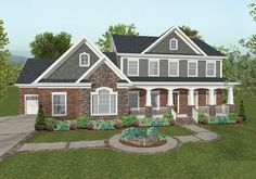 Eplans Craftsman House Plan - Craftsman with all the Features - 2697 Square Feet and 4 Bedrooms from Eplans - House Plan Code HWEPL69037