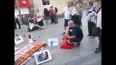Círculo de Silencio - Junio 2014 - Murcia