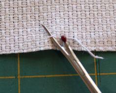 cut huck cloth