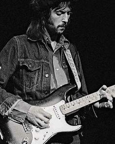 Eric Clapton, Denim lasts Pop Rock, Rock N Roll, Eric Clapton Unplugged, Pink Floyd, Guitar Guy, Guitar Players, Tears In Heaven, The Yardbirds, Rock Legends