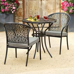 The Classic Orchard Catalina Chat Set   Available In Store U0026 Online    Perfect For A Small Deck, Patio Or Balcony   #outdoor #living #loveseat  #catau2026