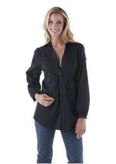 Sportliche Longbluse / Bluse von  Cheer in schwarz Größe 36 NEU (103090)