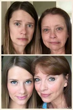 Wow,wow right! This is a fab mum and daughter before and after...love it. That's how awesome our younique products are,suitable for ladies of any age ❤
