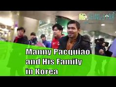 Manny Pacquiao and His family visit South Korea Trip - Seinustar Rent Winter Clothes! - YouTube