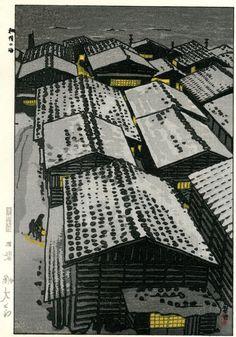 "Shiro Kasamatsu was a student of Kaburagi Kiyokata. In the 1950s he published bird and animal prints, landscapes and ""famous views"" with the publisher Unsodo - alltogether more than 100. Shiro Kasamatsu worked in Shin Hanga and Sosaku Hanga style. | eBay!"