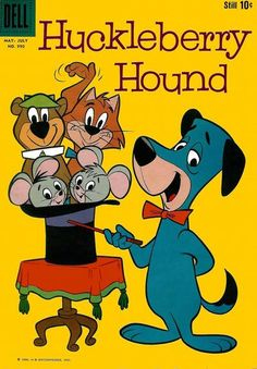 Huckleberry Hound I loved this cartoon show:) Comic Books For Sale, Best Comic Books, Vintage Comic Books, Vintage Cartoon, Vintage Comics, Old Comic Books, Hanna Barbera, Classic Comics, Classic Cartoons