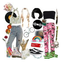 """Ella & Ashley"" by sunsetsandflowers on Polyvore featuring art"
