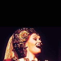 Dame Joan Sutherland. Look at that mouth! Amazing singer!