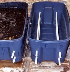 Maine Organic Farmers and Gardeners Association Building a Homemade Worm Composting System