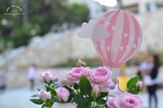 hot air balloon decoration / βάπτιση αερόστατο διακόσμηση εκκλησίας