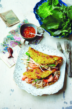 The Best Pancakes Are Bánh Xèo: No Diary, No Gluten, No Egg, No Guilt - Coconut Crepes