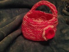 My new knit gift bag x