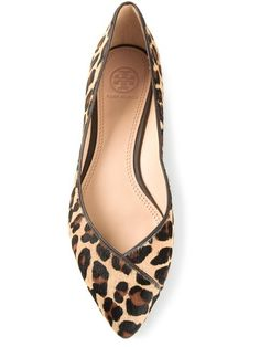 Shop Tory Burch leopard coconut ballerinas in Russo Capri from the world's  best independent boutiques at