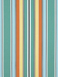 Ralph Lauren Shell Beach Stripe Turquoise $102.99 Per Yard #interiors  #decor #multi. Outdoor FabricOutdoor ...
