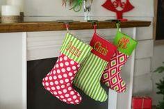 Personalized Christmas Stockings, Gifts, & Santa Sacks