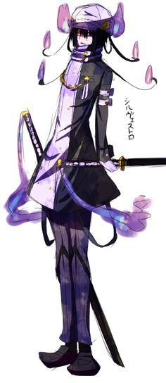 Pokemon Gijinka  | FUCK YEAH POKÉMON GIJINKA (request: chandelure)