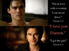 No more tears for Damon????